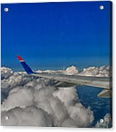 Wing And Clouds Acrylic Print