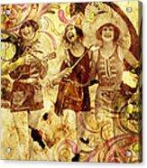 Winsome Women Acrylic Print