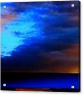 Winter Clouds In Spain Acrylic Print