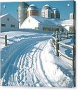 Winter, Ct Acrylic Print