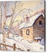 Winter Escape Acrylic Print