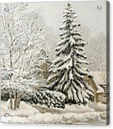 Winter Fairytale Acrylic Print