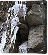 Winter Ice Acrylic Print