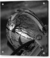 Winter In The Headlight Acrylic Print