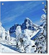 Winter In The Tetons Acrylic Print