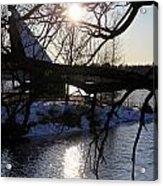 Winter Lake Acrylic Print