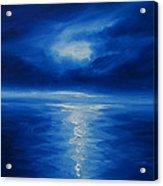 Winter Moon Vi Acrylic Print