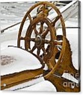 Winter On Board Acrylic Print by Heiko Koehrer-Wagner