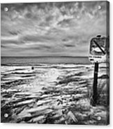 Winter... Or Three Months Of Silence Acrylic Print