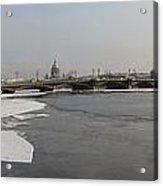 Winter Panoram Peterburg Acrylic Print