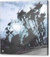 Winter Roadside Acrylic Print