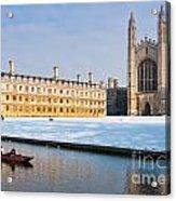 Winter Snow At Kings Acrylic Print