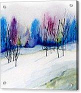 Winter Sorbet Acrylic Print
