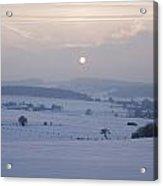 Winter Sunrise Westerwald Acrylic Print