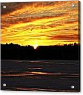 Winter Sunset I Acrylic Print