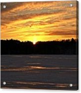 Winter Sunset II Acrylic Print