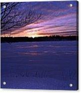Winter Sunset IIi Acrylic Print