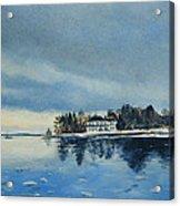 Winter Tide Acrylic Print