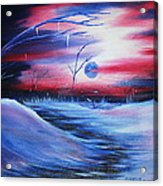 Winter's Frost Acrylic Print by Shadrach Ensor