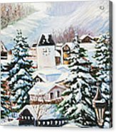 Wintertime In Vail 2286 Acrylic Print