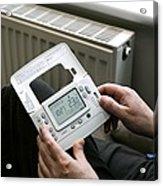 Wireless Thermostat Acrylic Print