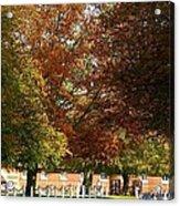 Wiseton Hall Stables Acrylic Print