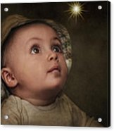 Wish Upon A Star Acrylic Print by Pat Abbott