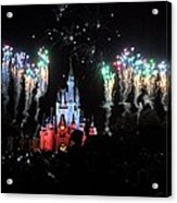 Wishes At The Magic Kingdom Acrylic Print