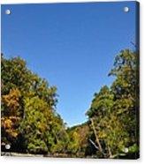 Wissahickon Blue Skies Acrylic Print