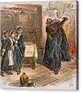 Witch Trial: Tituba, 1692 Acrylic Print by Granger