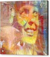 With Amelia's Shadow Acrylic Print