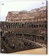 Within The Colosseum Acrylic Print
