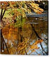 Wolcott River Reflections Acrylic Print