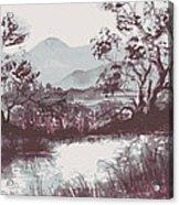 Wolf Creek Acrylic Print
