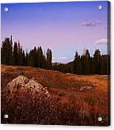Wolf Creek Twighlight Acrylic Print