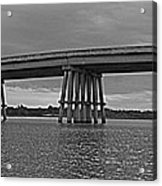 Wolf River Bridge Acrylic Print
