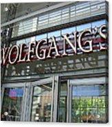 Wolfgangs Reflections Acrylic Print