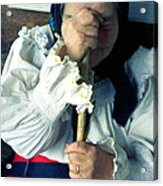 Woman From Maramures  Acrylic Print