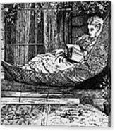 Woman Reading, C1873 Acrylic Print