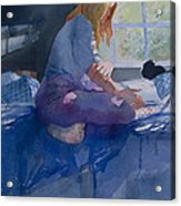 Woman Reading Acrylic Print