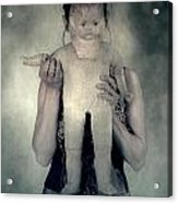Woman With Doll Acrylic Print