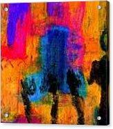 Woman With Three Legs Acrylic Print