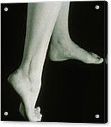 Woman's Healthy Feet Acrylic Print