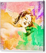 Woman's Soul Part 1 Acrylic Print