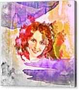 Woman's Soul Part 2 Acrylic Print