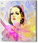 Woman's Soul Part 3 Acrylic Print