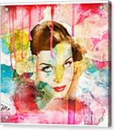 Woman's Soul Prelude Acrylic Print