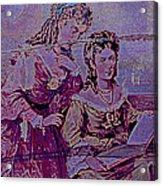Women Friends Acrylic Print