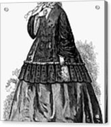 Womens Fashion, C1850s Acrylic Print