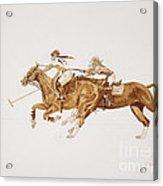 Women's Polo Tournament  Acrylic Print